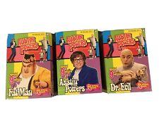 "3 Austin Powers 9""Action Figures McFarlane Series 2"