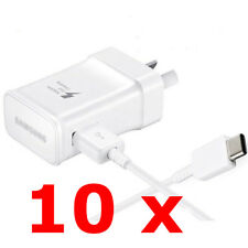 Genuine Samsung Galaxy S8 S8+ Note 8 Adaptive Fast Wall Charger USB Type-C Cable