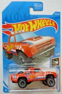 2021 Hot Wheels HW RACE TEAM 1/10 '87 Dodge D100 168/250 (Orange)