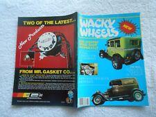 WACKY WHEELS CAR Magazine- #1-1982-SIDE-STEPPIN SPEED SHOP SWINDLES!!