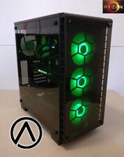 AMD Ryzen TR 1950X 16-core liquid cooled GTX 1080 Ti SSD gaming computer RGB