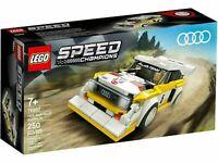 LEGO® Speed Champions 76897, 1985 Audi Sport Quattro S1, NEU & OVP