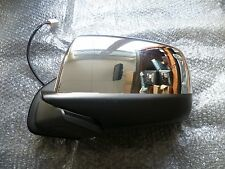 Ford Ranger 2007 - 2012 N/S Passenger Electric Powerfold CHROME Wing Mirror NEW