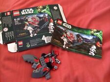 Lego Star Wars 75001 - Republic Troopers Vs Sith - Box & Instructions, No Minifi