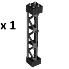 LEGO Black Support 2x2x10 Girder Triangular Vertical-Type 4-3 Posts Super Heroes