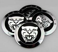"4x 56mm 2.2"" Auto Car Wheel Center Hub Cap Emblem Stickers for Jaguar Leopard"