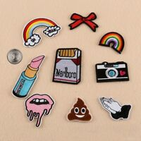New Embroidered Iron On/ Sew On PATCH Lot Craft DIY Badge Bag Fabric #11 Combo