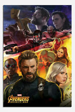 Avengers Infinity War Captain America Poster New - Maxi Size 36 x 24 Inch