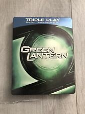 GREEN LANTERN, BLU RAY & DVD STEELBOOK. (Sold Out, OOP).