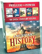 American History - Prelude to Power ~ NEW & SEALED DVD set ~ 11 Discs w 37