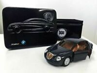 ALFA ROMEO SPIDER MODEL CAR 1:43 SCALE SOLIDO + TIN DEALER SPECIAL Black