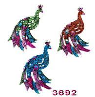 Fashion Women Shining Animal Rhinestone Crystal Bridal Brooch Pin Christmas Gift