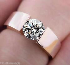 2.01 ct off white Yellow Real moissanite Engagement ring 925 silver Ring MK#012