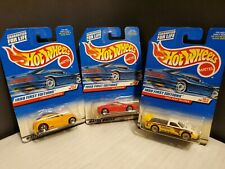 Lot of 3 NEW Hot Wheels 1999 First Editions #19 #21 #23 Tacoma Modena Pronto