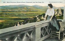 DB Postcard CA J256 Ernestine Schumann Heink Famous Opera Singer San Diego 1910s