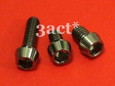 3pcs Titanium / Ti Bolts - XTR M970 / M980 / M971 / M972 Front & Rear Derailleur