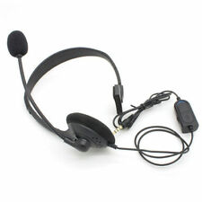 Wired Game Headset Earphone with MIC + Volume Control for PlayStation 4 PS4
