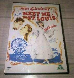Meet Me In St Louis Judy Garland Mary Astor Genuine R2 DVD VGC