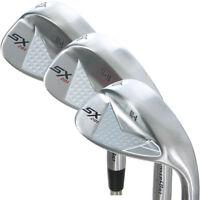 PowerBilt Golf SX-201 3-Piece Wedge Set: 52*(GW), 56*(SW), 60*(LW) - Brand New