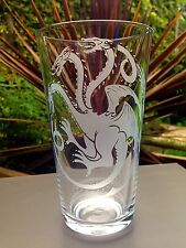 Game Of Thrones Engraved Pint Glass - New - Handmade