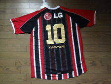 Sao Paulo FC #10 100% Original Vintage Jersey Shirt XL 90's Away BNWT NEW Topper