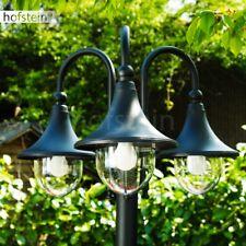 In Acciaio Inox Lampada piantana a stelo luce Candelabro Aussenlampe Lampada Stand Lampada da giardino
