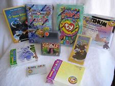 New Vintage Rare TY Beanie Babies Cards Series II 1st Ed. Series III 2nd ed