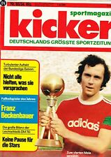 Magazin Kicker 66/1976,Bundesliga,