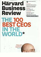 HARVARD BUSINESS REVIEW, JANUARY / FEBRUARY, 2013(THE 100 BEST CEOS IN THE WORLD