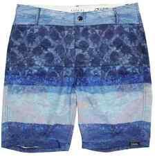 85d039c329e20 New Men's EZEKIEL Light Blue Dark Blue Boardshorts Swim Suit Trunks - Size  32