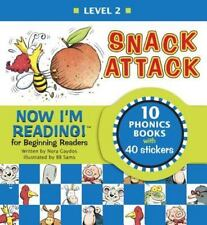 Snack Attack by Nora Gaydos:Ages 4 and up-  Level 2 Reader