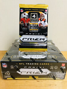 2020 PANINI PRIZM NFL FOOTBALL MEGA BOX PACK 4 CARDS WALMART SEALED HERBERT RC
