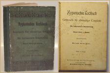 Starker Hygieinisches Kochbuch 1900 Kochen Küche Backen Genießen Kurgäste xy
