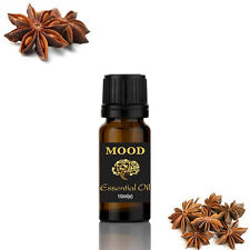 Mood Essentials Natural Pure 10ml Essential Oils Aromatherapy Fragrance Aniseed