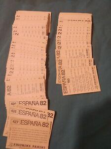 CROMOS WORLD CUP ESPAÑA 82 WC PANINI