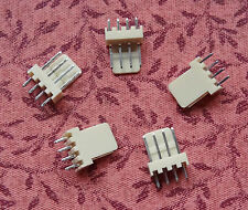 4 Pin Male Fan Connector Housing with Pins 2.54mm Pitch 5 Pack