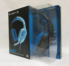 LOGITECH g430 Surround Sound Gaming Headset/Cuffie NUOVO & OVP