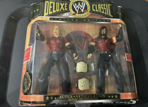 Rare Jakks Wwe Deluxe Classic Limited Edition The Hardys 2 Pack Jeff Matt Hardy