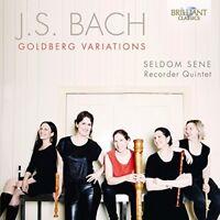 GOLDBERG VARIATIONS - SELDOM SENE RECORDER QUINTET   CD NEU