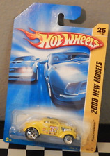 Hot Wheels New Models 2008-025 Pass'n Gasser Dragster Race Decals Yellow