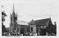POSTCARD   KENT     FAVERSHAM    Parish  Church