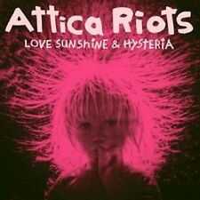 ATTICA ROOTS - LOVE,SUNSHINE & HYSTERIA   CD NEU