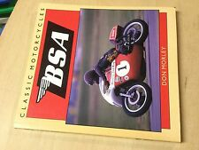 Classic Motorcycles BSA by Don Morley 032217