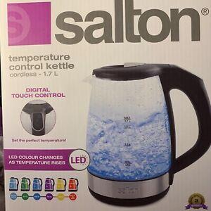 Salton Temperature Control Kettle Cordless 1.7L
