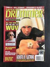 Modern Drummer Magazine December 2001  P.O.D.'s WUV