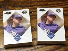 (50) JERED WEAVER 2005 JUST MINORS JUSTIFIABLE ROOKIE CARD LOT ANGELS #87