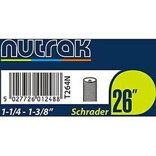 Nutrak 26 x 1-1/4 - 1-3/8 Pollici Schrader tubo interno