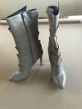 Jill Sander Boots Size 41 US 11 Light Brown Leather