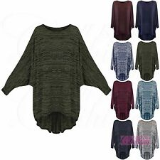 Unbranded Women's Long Scoop Neck Jumpers & Cardigans