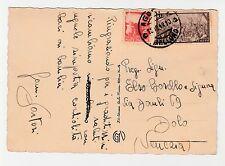 STORIA POSTALE 1948 REPUBBLICA L.4+8 AGORDO 15/10/48 Z/6497